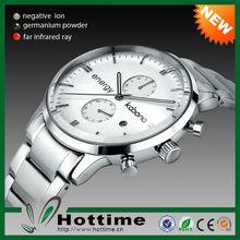 Top Sale Kabona 3 in 1Bio Elements Energy Stainless Steel Novelty Item Brand Watches Men