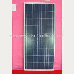 140w polycrystalline silicon solar panels