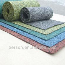 commercial rubber flooring/ rubber epdm flooring/ gym floor rubber roll