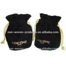 2012 new desgin velvet pouch for jewelry
