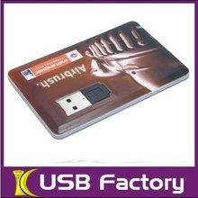 Hot Selling USB Card Flash Drives 16GB