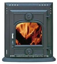 cast iron fireplace insert stove(JD003)
