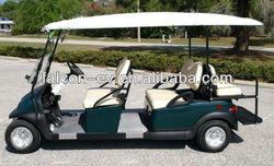6 seats golf car (for resort,campus,museum)