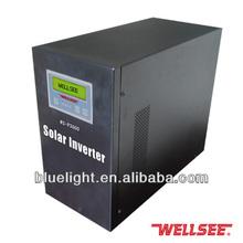 BEST solar panels inverters 3000w 12v/24v/48v/96v pure sine wave Wellsee power converter supply