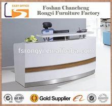 2014 new model on sale cheap elegant front desk system