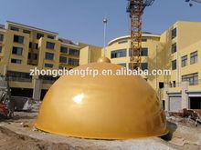 fiberglass building dome