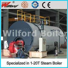 WNS Wet Back Fire Tube Hot Oil Fired Steam Boiler Price