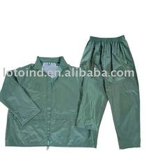 polyester adult raincoat