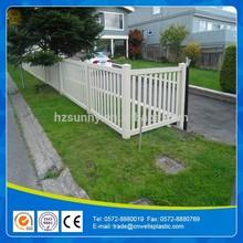 PVC PICKET FENCE /PLASTIC FENCES