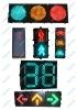 solar LED traffic safety signal light