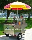 Small trailer, dog trailer bike hot dog trailer/ food vending trailer/Breakfast carts