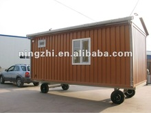 MODULAR CONTAINER HOUSE/MODULAR CONTAINER /MODULAR CONTAINER OFFICE WITH WHEELS