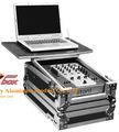 Turntable caixão caso/controlador dj caso dj mixer com o caso do vôo