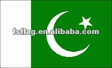 Pakistan national flaghot selling polyester 2'x3'Pakistan national flag