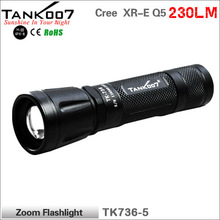Bicycle Camping product China Led zoom flashlight TANK007 TK736