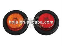2 inch LED Round Marker and Clearance Light 12v/24v led side marker lights for truck trailer
