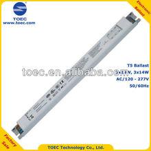 T5 2x14W 3x14W Fluorescent Electronic Ballast