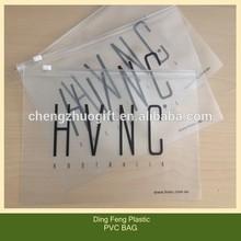 Custom Plastic PVC Zip Lock Bag