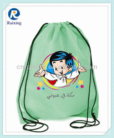 custom kids drawstring backpack