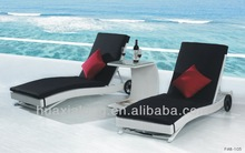 2014 Sun Lounger with Waterproof Cushion