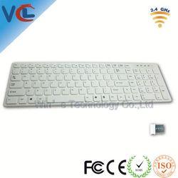 Wholesale VMK-28 2.4ghz pc usb wireless keyboard shenzhen