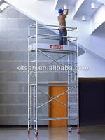 Single width brand new access tower scaffolding