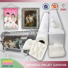 Bright white Latex polycotton canvas for picture print