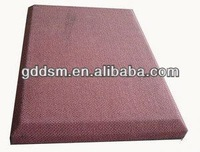 leather covered fiberglass acoustic panel acoustic wall panel