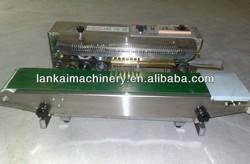 automatic plastic bag sealer/plastic bag sealing machine