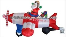 inflatable santa with vessel
