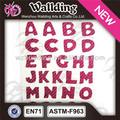 glitter alphabet lettre pour produits de scrapbooking