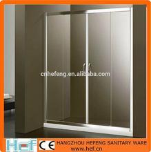 HEF between walls 2 sliding glass door