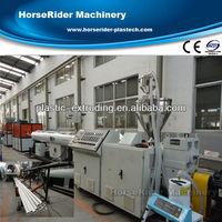 Plastic extruder/PVC pipe extrusion machine/pipe extrusion line