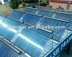 Unpressurized Vacuum Tube Solar Collectors (40/50/60 tubes)