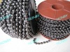 For Curtain Use Spool Gun Metal Steel Ball Chain