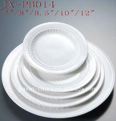 porcelain plates dishes