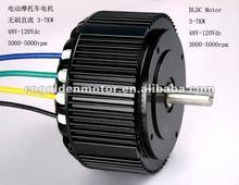 High Power 48V / 72V 5KW electric motorcycle motor , E-Motorcycle conversion kit; 5KW BLDC Hub Motor