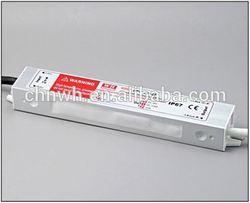 2-year Warranty single output waterproof power electronic 20w led driver