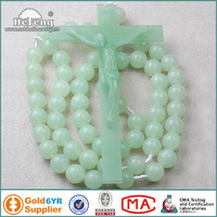 Glowing in the dark Plastic Wall Rosary