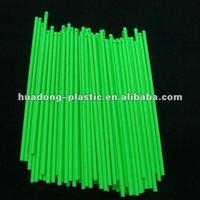 single notch plastic lollipop sticks