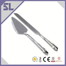 Fancy Silver Metal Useful Wedding Gifts Spade And Butter Knife