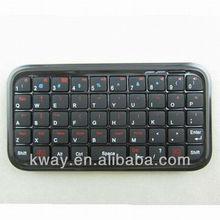 Ultra Slim Mini Bluetooth Keyboard For Iphone 4 4S Android OS PC PS3 PDA KOA058
