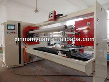 Four Shaft PLC Controlled Automatic BOPP,Masking Tape Log Roll Slitting Machine(Tape Roll Slicer Machine)