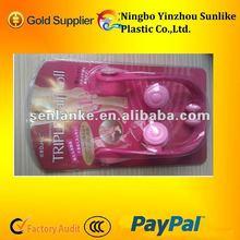 2012 best seller plastic triple calf roll massager/slimming leg