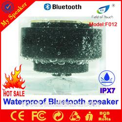 IPX7 waterproof bluetooth speaker china supplier shenzhen factory with best price 2014
