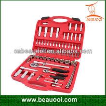 "86pcs 1/4"" & 1/2"" socket wrench tool set"