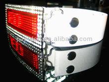 2015 digital programmable led belt buckle, Rhinestone Scrolling LED Belt Buckle for belt