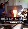 de inducción eléctrica crisol del horno de fusión del fabricante