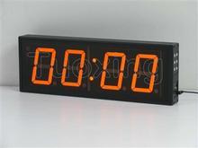 4 inch 4 digit wall mounted LED digital clock