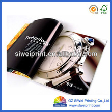 Full color customized paper brochure printing,magazine printing